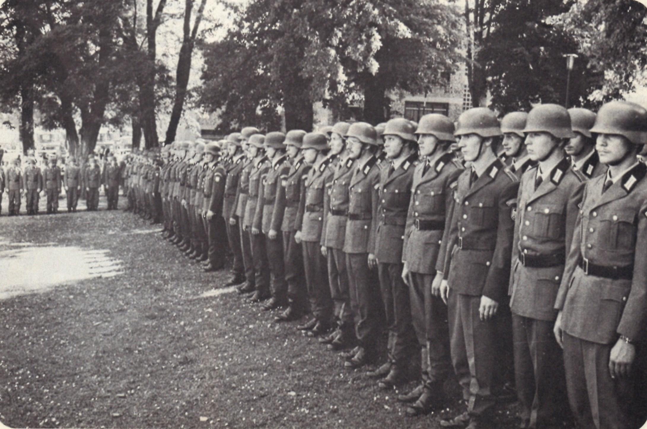 soldat der grenzkompanie